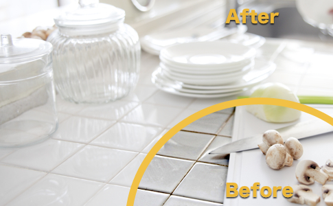 Damaged Grout Repair & Cracked Tile Replacement