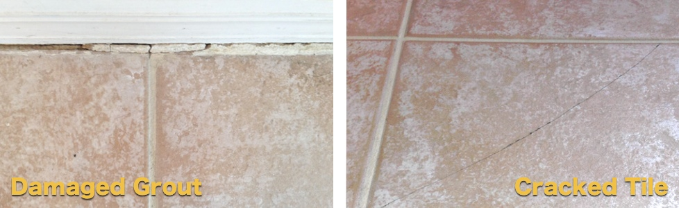 Damaged Grout Repair U0026 Cracked Tile Replacement